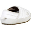 The North Face W's Nuptse Traction Mule Shiny Moonlight Ivory/Moonlight Ivory